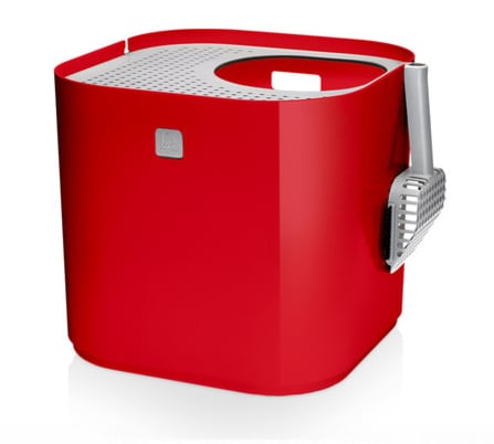 This ModKat Litter Box ($188) looks more like retro, kitschy decoration than where your cat takes care of his private business. Plus, the rooftop access and perforated top prevent litter from spilling out.