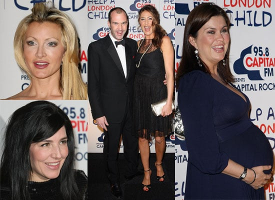 Photos of Lisa Snowdon, Johnny Vaughan, Caprice, Amanda Lamb and Sharleen Spiteri at Capital Rocks Party