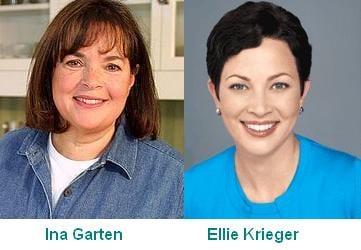 Ina Garten and Ellie Krieger - lookalikes?