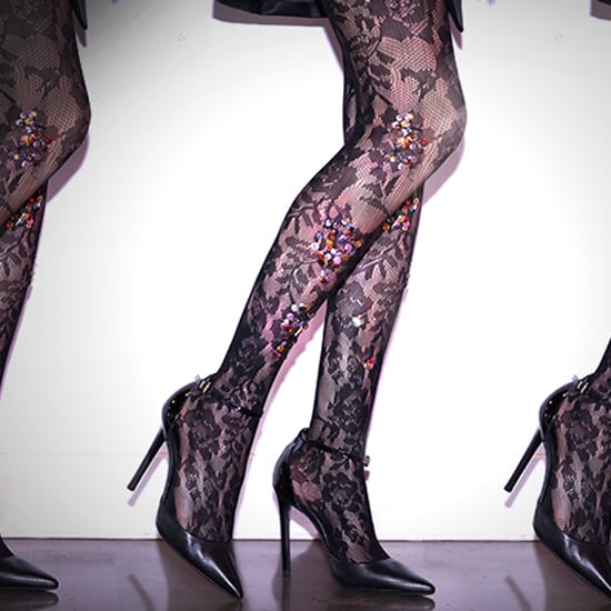 DIY: Sequined Tights