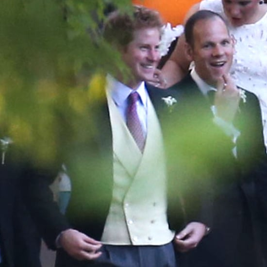Prince William and Prince Harry at Wedding in Memphis