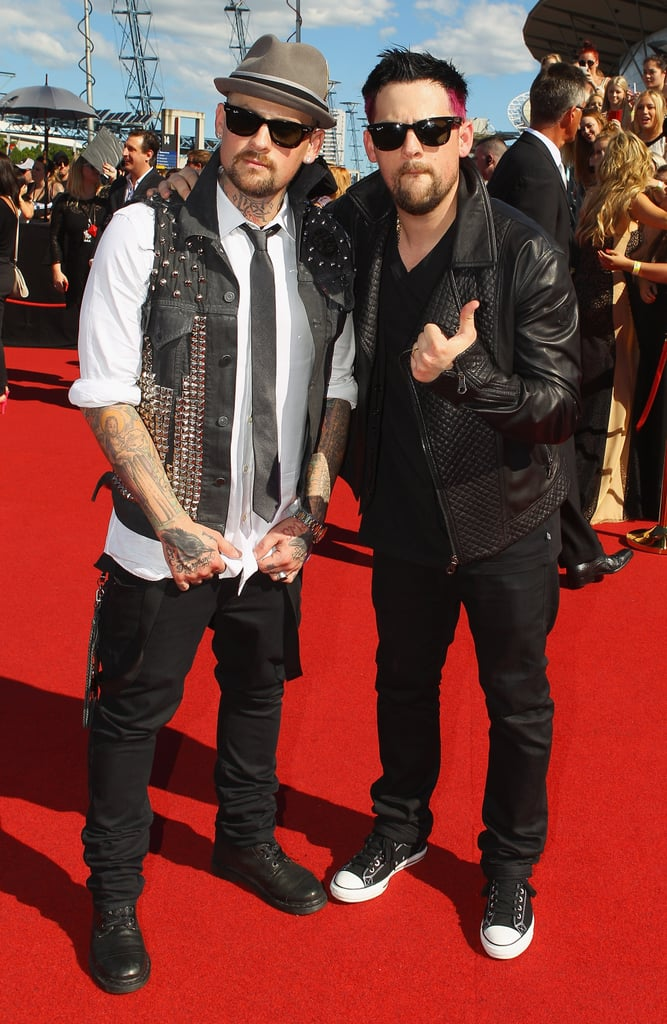 Benji and Joel Madden