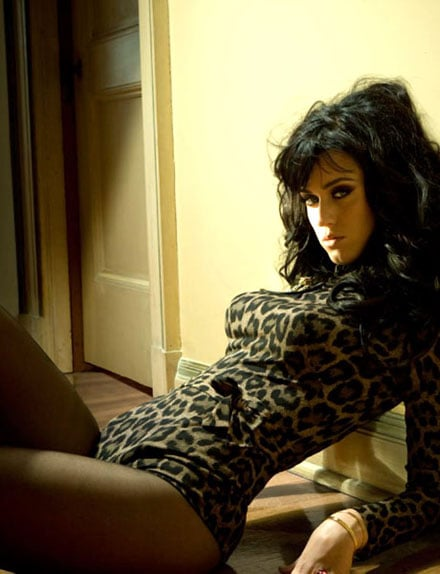 She wore a leopard leotard for Esquire's July 2011 issue.