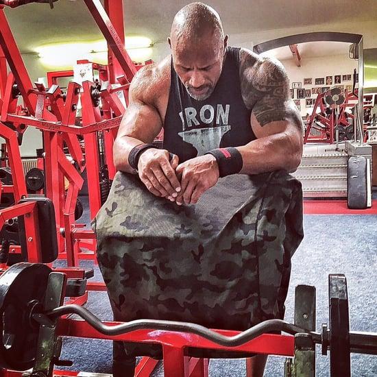 The Rock Shares Inspirational Instagram