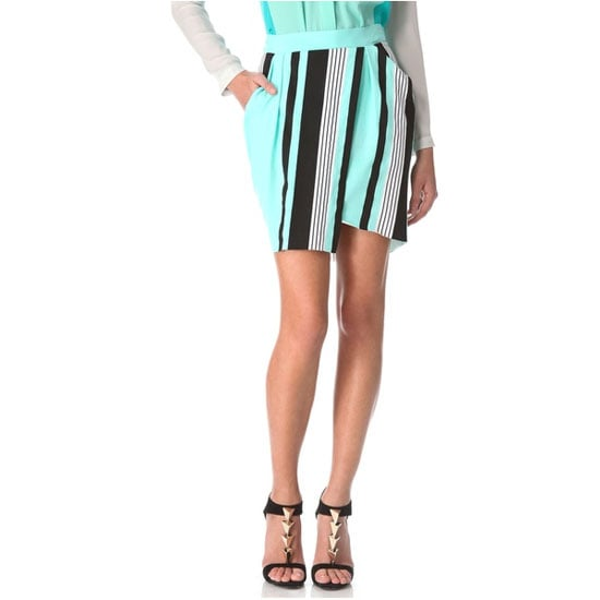 Lately I have been more into separates than dresses and this skirt stood out for me for multiple reasons: its colour, its pattern and its wrap vibe, which means it won't go super short when I sit down! Another bonus: the elastic waistband — a date night dinner essential.— Jess, PopSugar editor Skirt, approx $182, Ohne Titel at Shopbop
