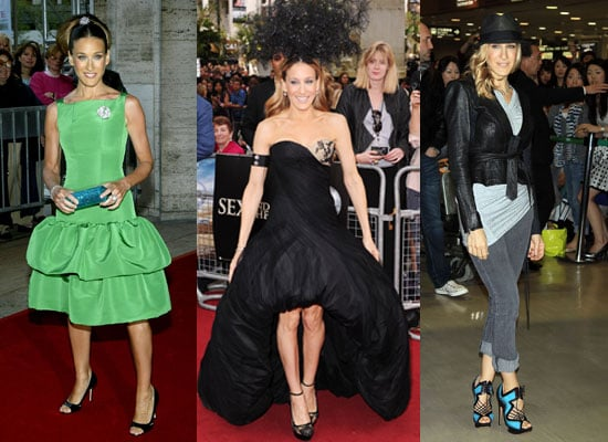 Photos of Sarah Jessica Parker and Her Fashion and Style