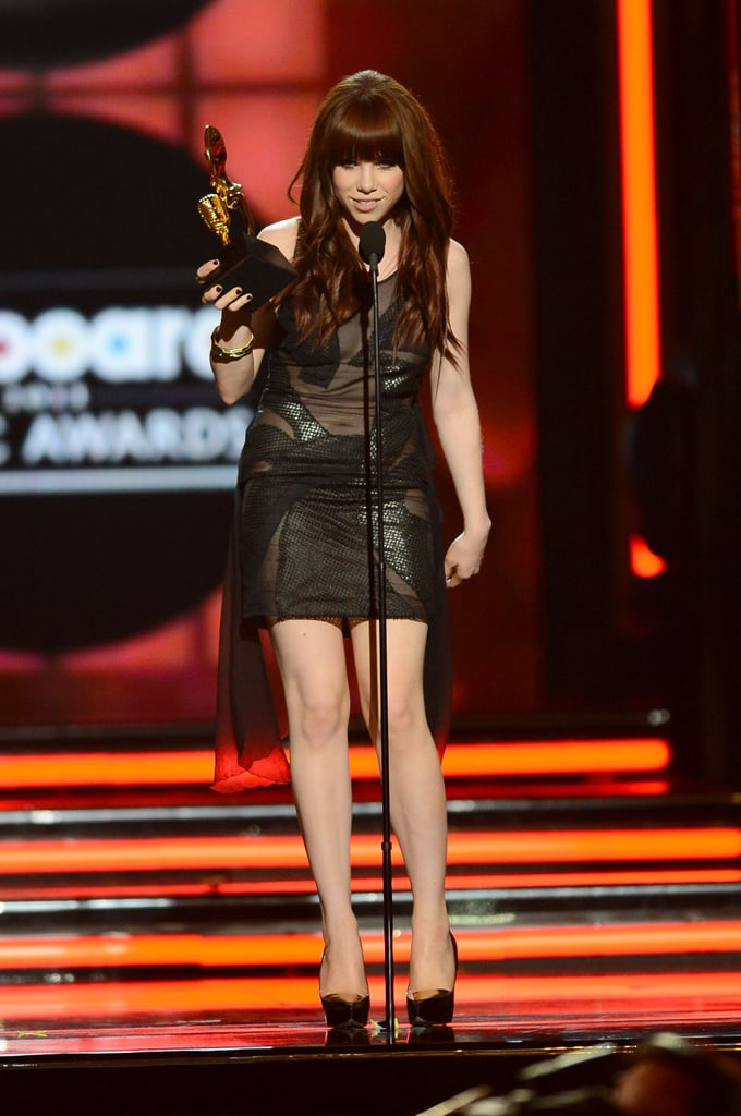 """Carly Rae Jepsen took home the award for top pop song with """"Call Me Maybe."""""""