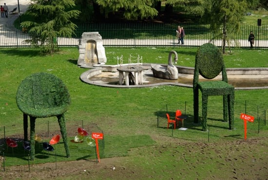 Cool Idea: Kartell/Philippe Starck Topiary Garden