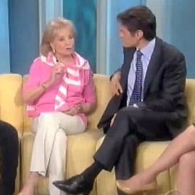 Whoopi Goldberg Passes Gas While Talking to Dr. Oz on The View
