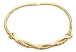 B-low the belt Gold Braid Belt