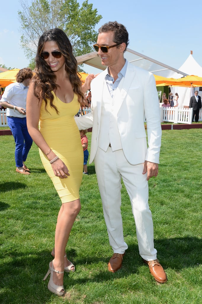 Matthew McConaughey officially became a father of three in December 2012, when baby Livingston was born.
