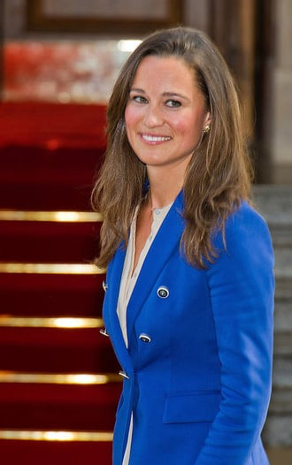 Pippa was all smiles the day after the royal wedding.