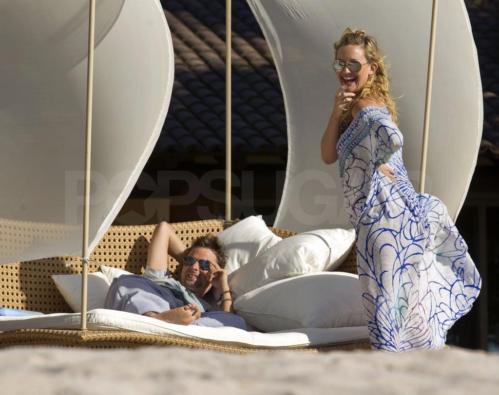 Kate Hudson and Matt Bellamy in Mexico