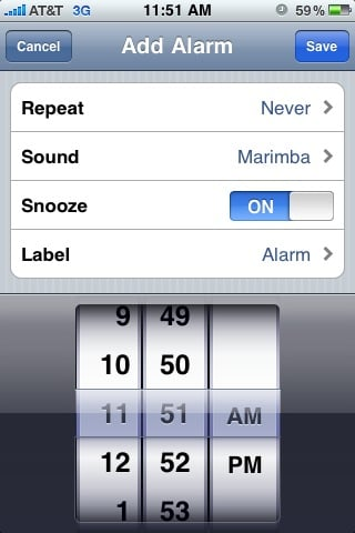 iPhone Daylight Savings Alarm Bug