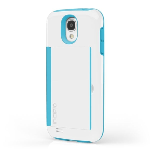 Cooler than the latest smartphone? A smartphone case with a trap door. Incipio's Stowaway Credit Card Case ($35) fits up to three credit cards and has a built-in stand.