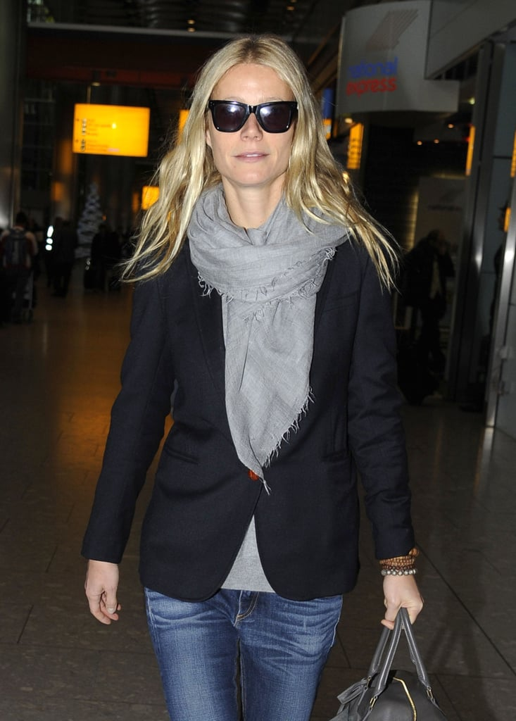 Gwyneth Paltrow touched down in London.