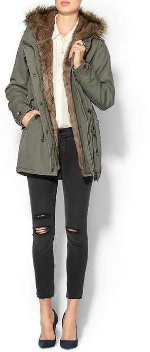 Piperlime Collection Faux Fur Anorak