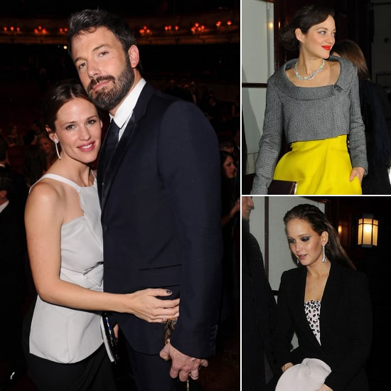 Ben, Jen, and More Celebrate Their BAFTA Wins in London