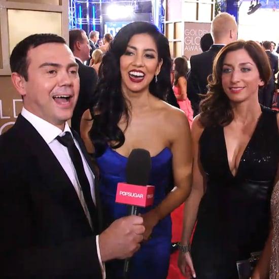 Brooklyn Nine-Nine Cast at Golden Globes 2014