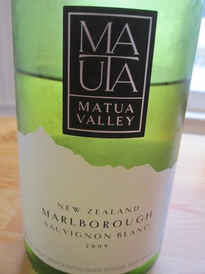 Review of 2009 Matua New Zealand Sauvignon Blanc