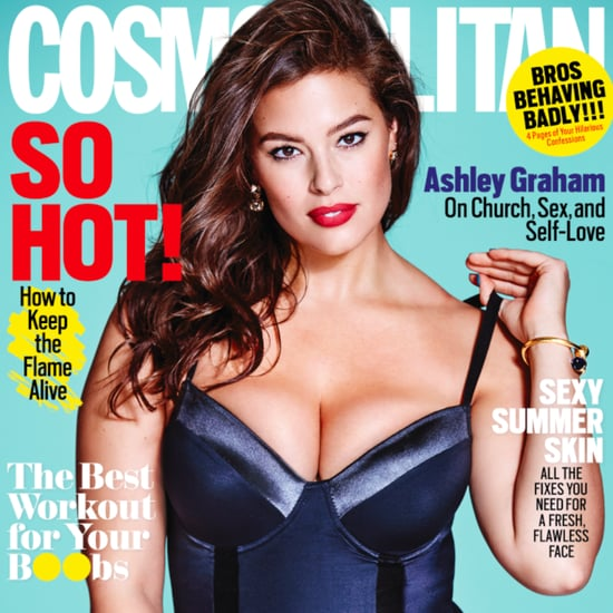 Ashley Graham Cover Cosmopolitan Magazine