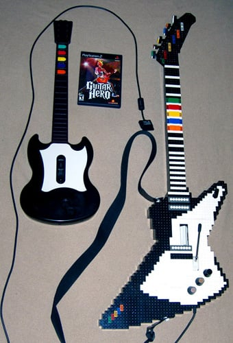 Moment of Geek: Lego Gibson Fit For Guitar Heroes
