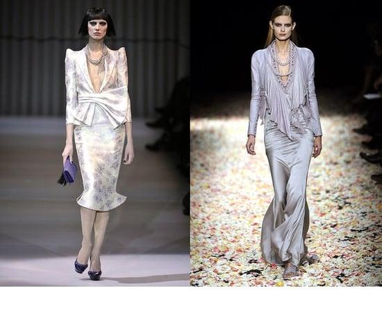 Spring 2009 Haute Couture Trend Report: Metallic Lavender