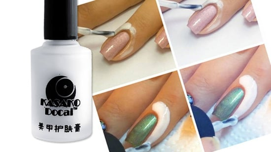 If You Paint Your Own Nails, This $3 Peel Off Cuticle Protector Is Genius!