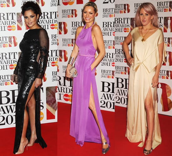Photos of Cheryl Cole, Tess Daly and Ellie Goulding at the 2011 Brit Awards