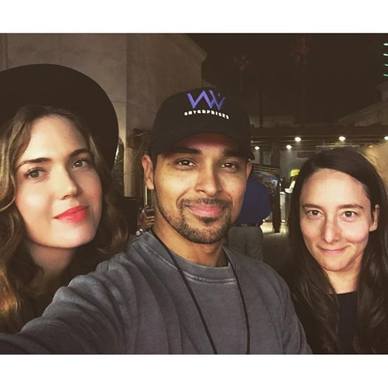 Mandy Moore and Wilmer Valderrama at Halloween Horror Nights