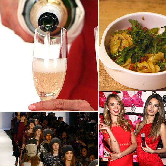 Champagne Tips & Fashion Week Begins: The Best of POPSUGARTV This Week