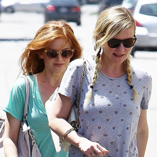 Isla Fisher and Kirsten Dunst Together in West Hollywood