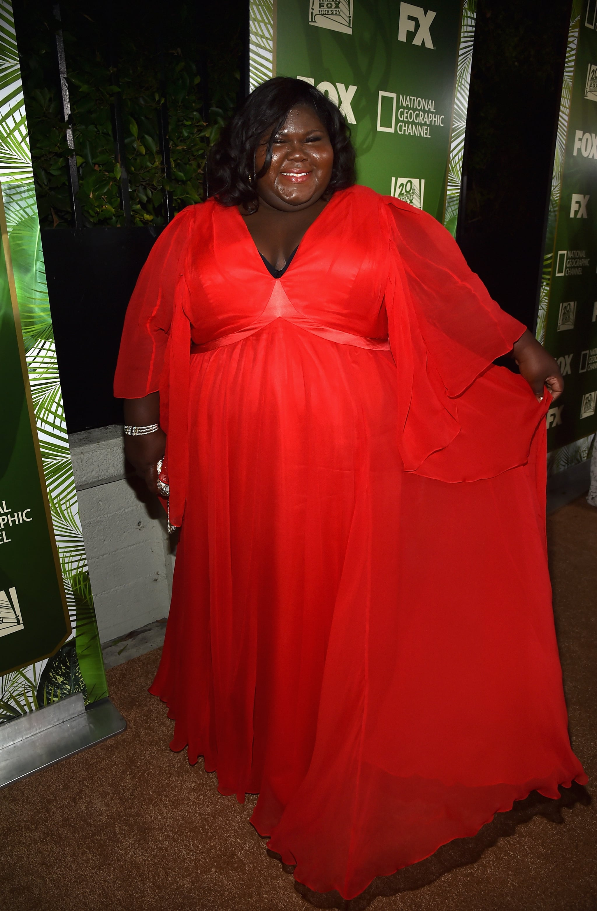 Gabourey Sidibe arrived for the event.