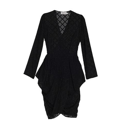 Chatter Diamond Wrap Dress