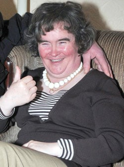 Sugar Bits — Susan Boyle's Life To Be Made Into A Movie?