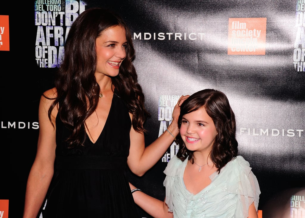 Katie Holmes and Bailee Madison.