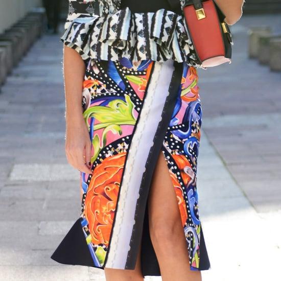 High Slit Skirts and Dresses