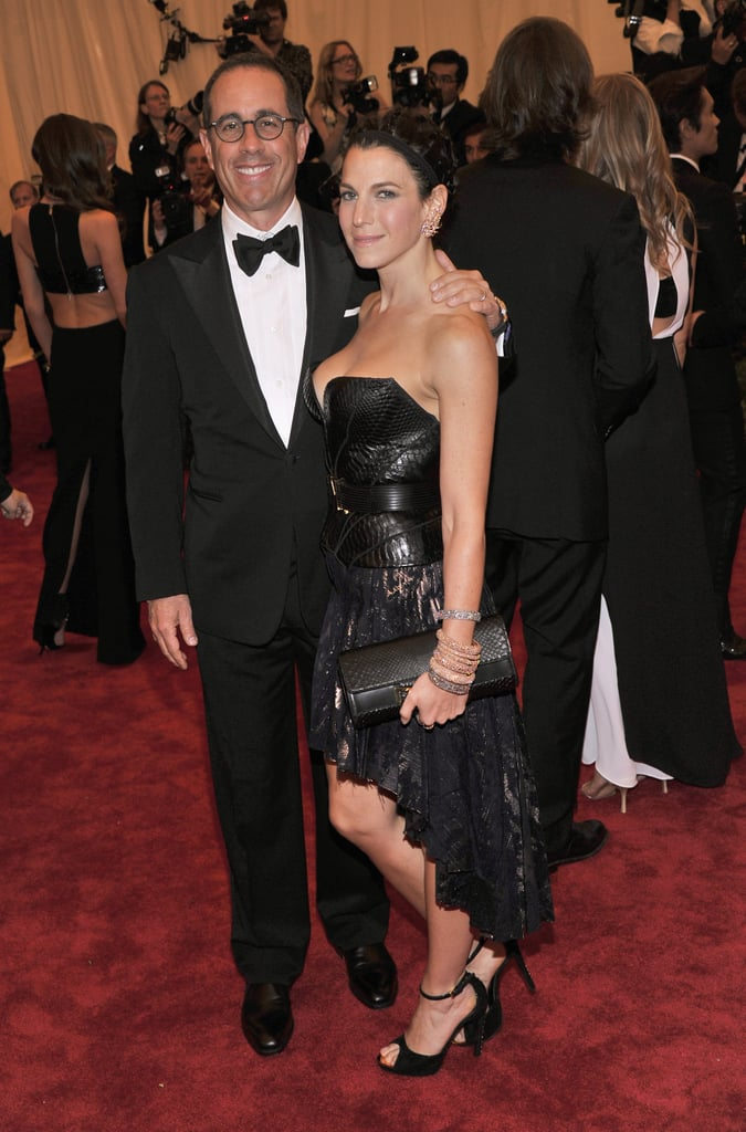 Jerry and Jessica Seinfeld were among the famous couples.