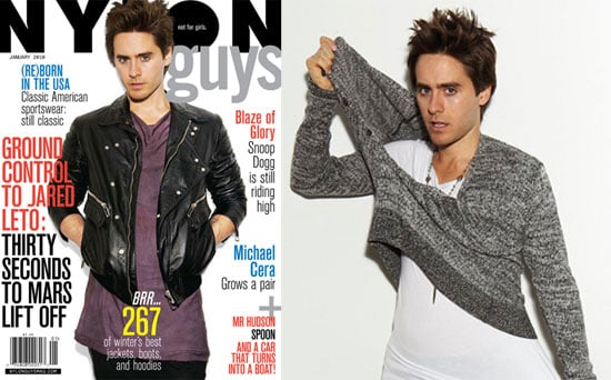 Photos And Quotes From Jared Leto in Nylon Guys 2009-12-09 14:00:00
