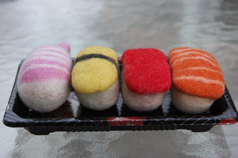 Sushi Bento Catnip Toy