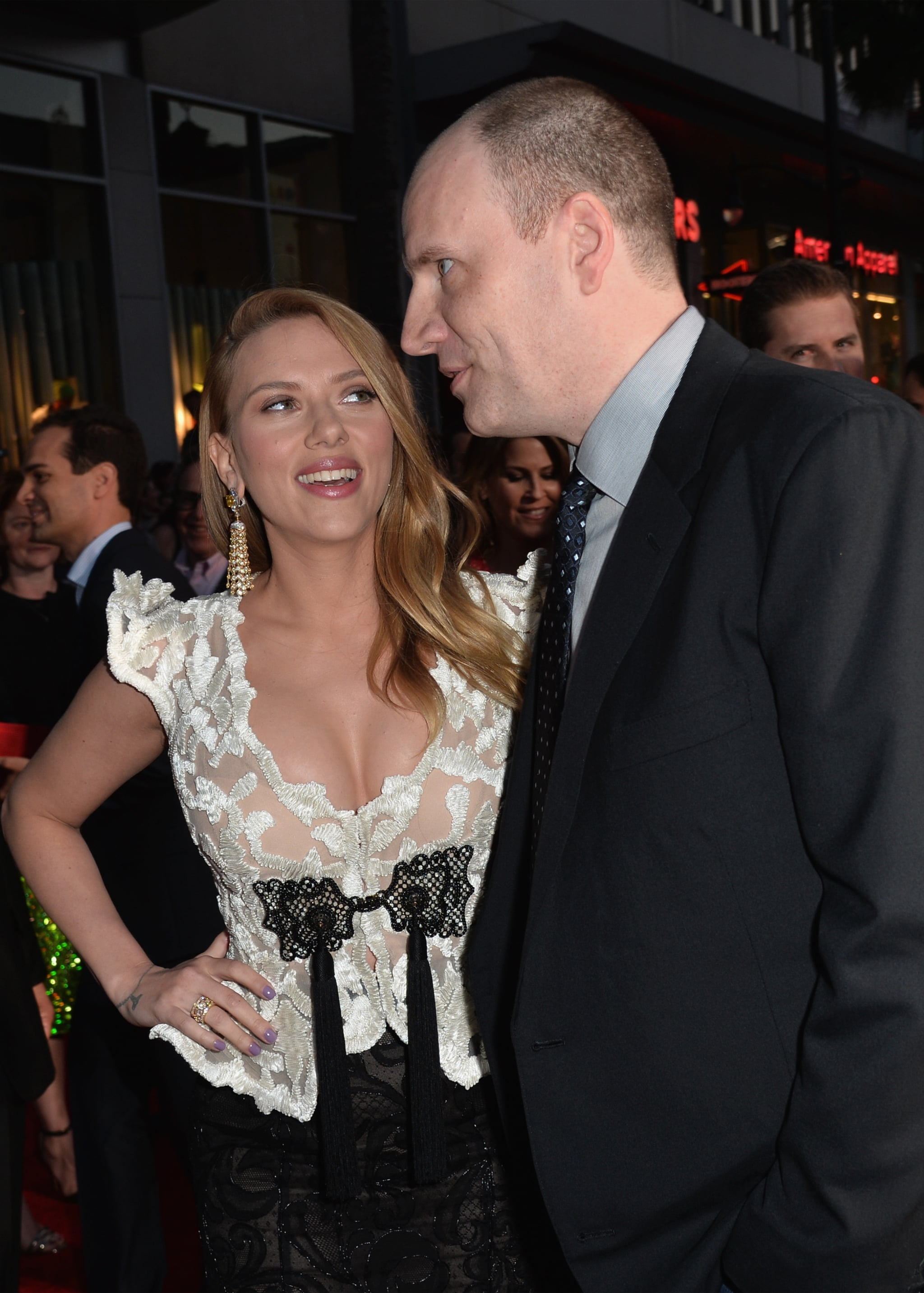 Scarlett linked up with producer Kevin Feige.