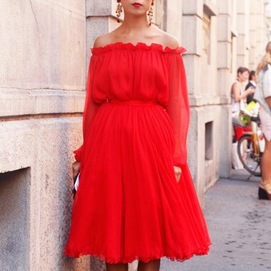Off-Shoulder Tops and Dresses