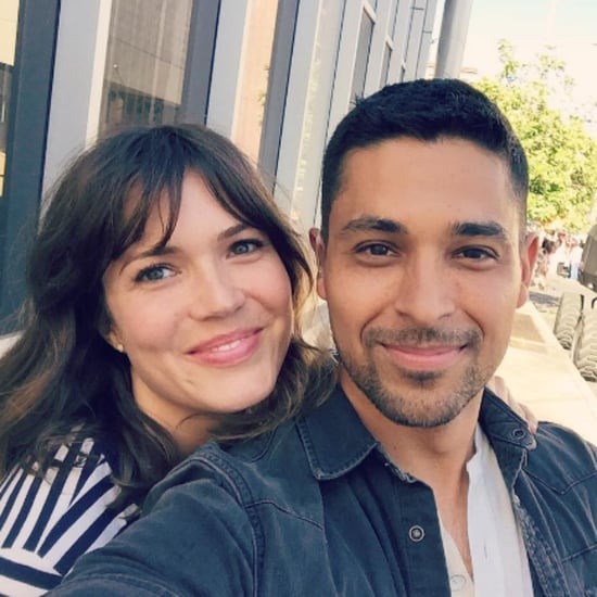 Mandy Moore and Wilmer Valderrama Reunion in LA July 2016