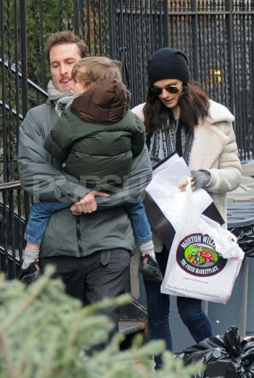 Pictures of Rachel Weisz and Darren Aronofsky With Their Son Henry