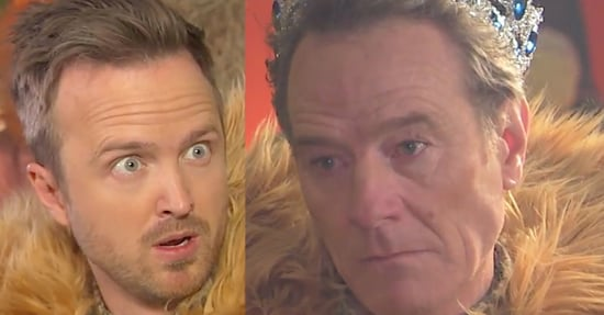 "There Was An Epic ""Breaking Bad"" Reunion On Jimmy Kimmel"