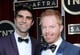 Jesse Tyler Ferguson and Justin Mikita were all smiles at the SAG Awards.