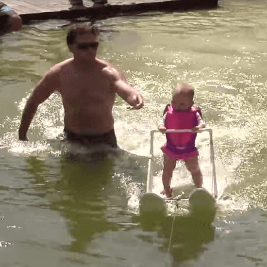 Little Girl Breaks Waterskiing Record at Six Months Old