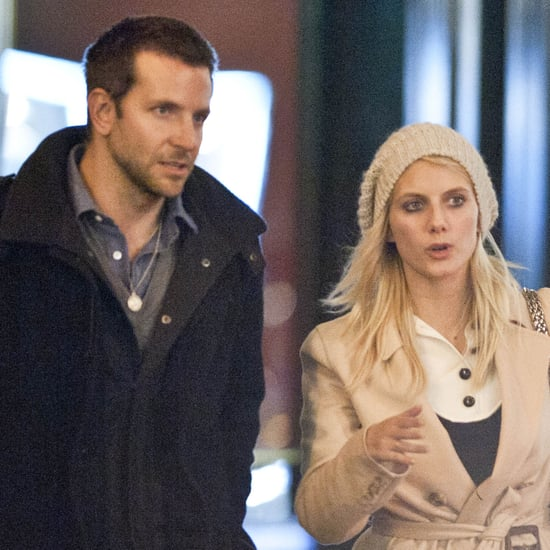 Bradley Cooper With Melanie Laurent in Paris Pictures