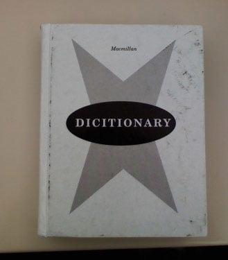 Dictionary Misspells Itself