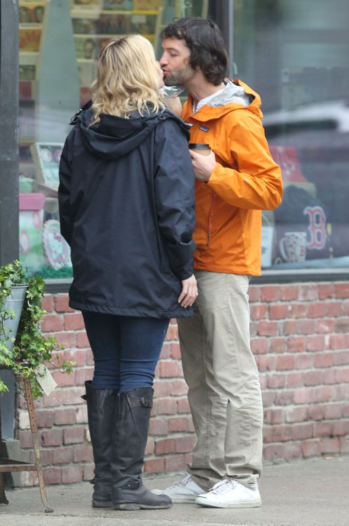 Kate Winslet and Ned Rocknroll kissed during a June 2012 trip to Boston.